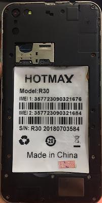 Hotmax R30 Flash File