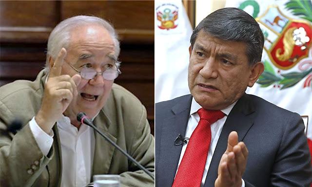 El excongresista Víctor Andrés García Belaúnde criticó al ministro del Interior Carlos Morán
