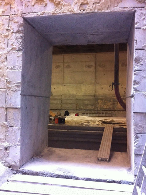Kabelzagen Josaphat tunnel - Wandopening zagen - Brussel - Diabeton