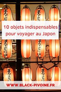 Voyager au Japon : 10 objets indispensables