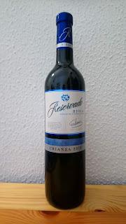 Vino tinto Reservado, DO Rioja, Crianza 2015, de Mercadona