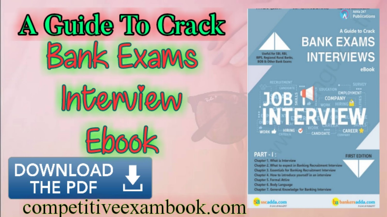 A Guide To Crack Bank Exams Interview eBook by Adda247 Publications