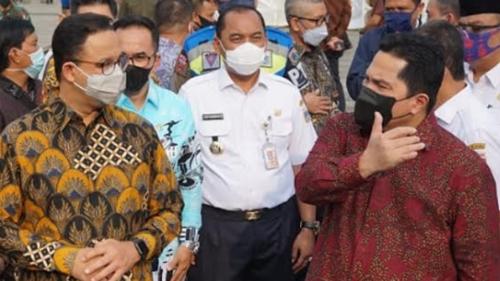 Dukung Ide Anies Baswedan, Erick Thohir: Saya dan Seluruh Kementerian Mendukung Sepenuhnya