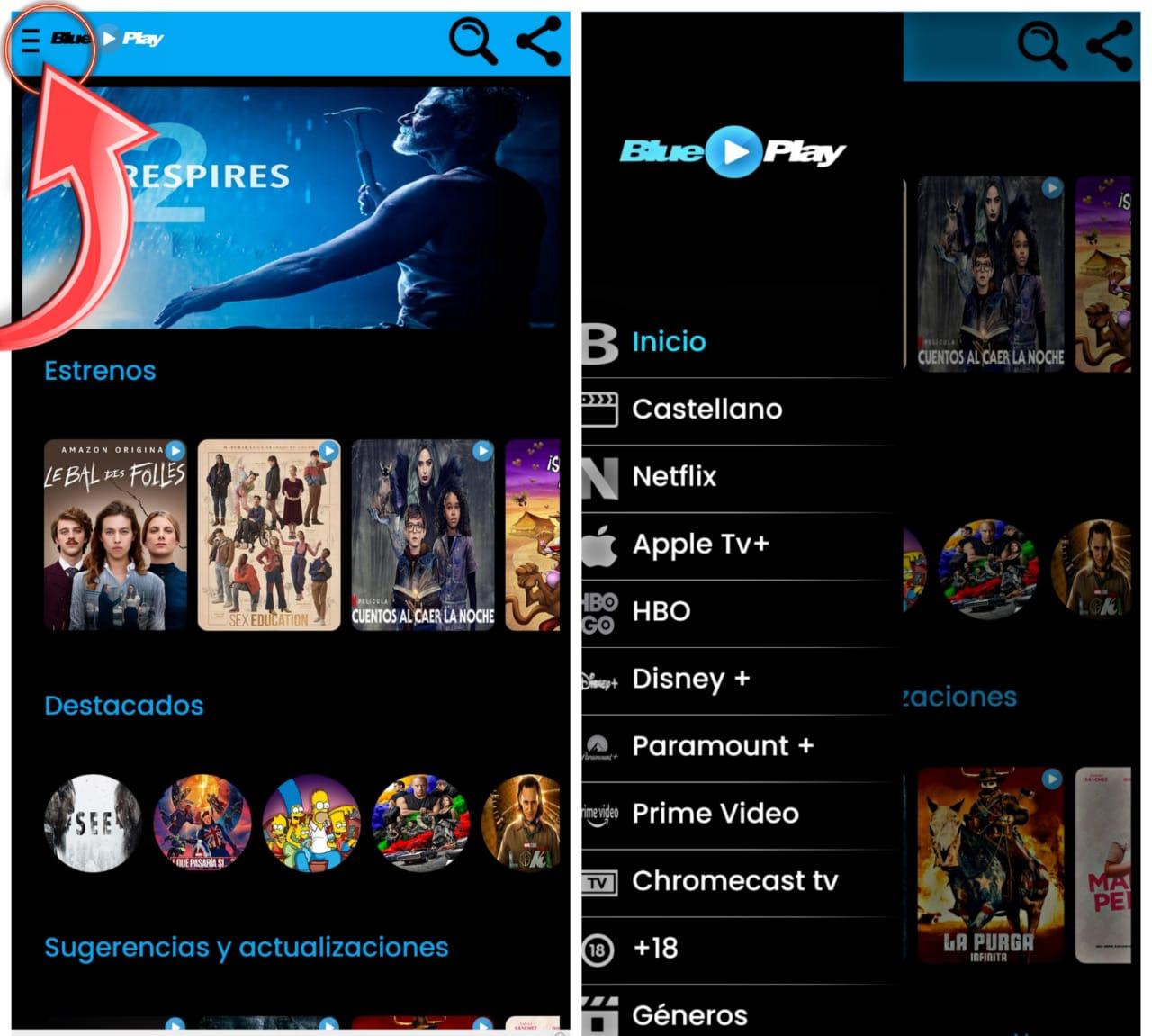 BLUEPLAY: Mejor Aplicación Para Ver Películas GRATIS