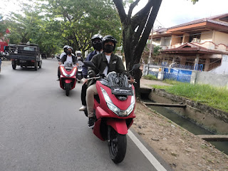 Ngebuburide Bersama MC Kota Pontianak Dengan PCX160