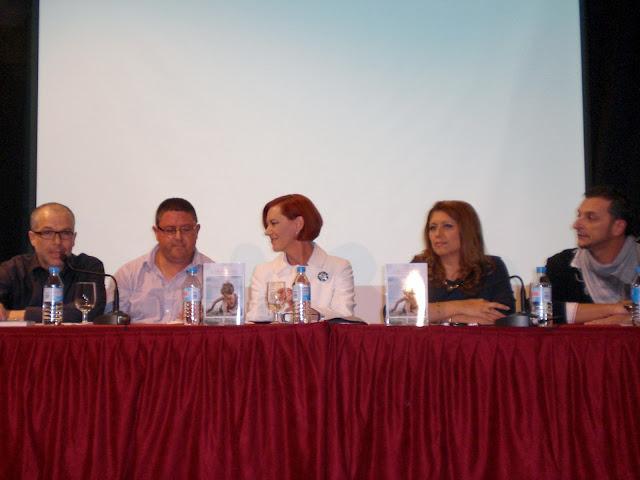 """El Blog de María Serralba  - Presentación """"El Dios del faro"""" Alicante"""