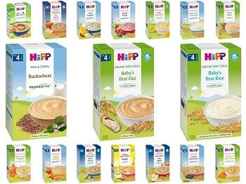 Bột ăn dặm Hipp