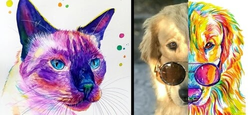 00-Cat-and-Dog-Paintings-Yubis-Guzmán-www-designstack-co