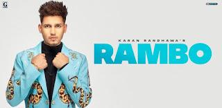 Rambo Lyrics in English – Karan Randhawa