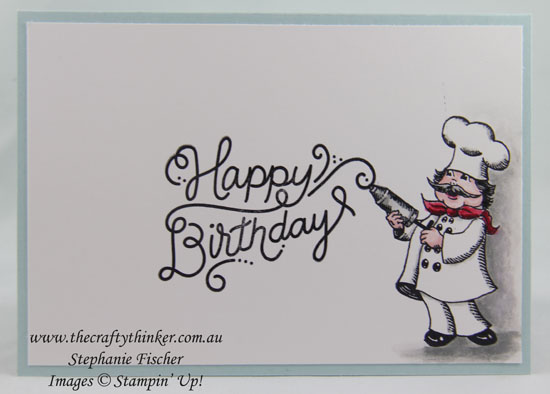 Birthday Delivery Bundle, Sneak Peek, #thecraftythinker, Stampin Up Australia Demonstrator, Stephanie Fischer, Sydney NSW
