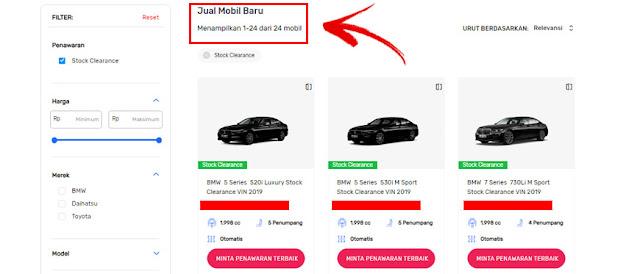 SEVA Tempat Mobil Online Terbaik Indonesia