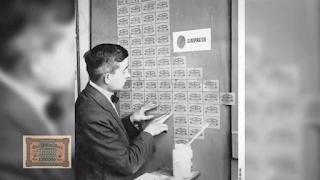Uang di Jerman digunakan sebagai penghias dinding rumah
