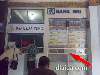 loket Bank BRI