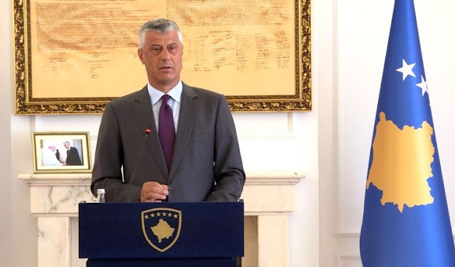 Kosovo Prime, Thaci: Territory Exchange provides recognition from Serbia
