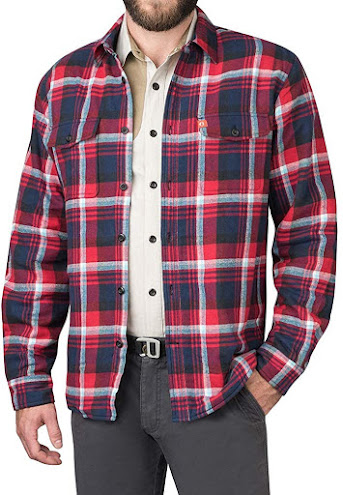 Best Men's Lined Plaid Flannel Shirts Jackets