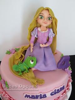 Rapunzel disney cake