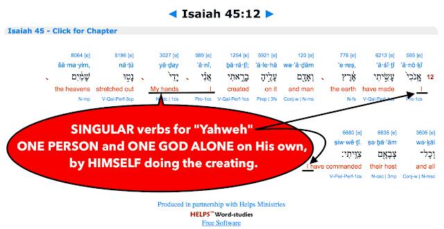 Isaiah 45:12.