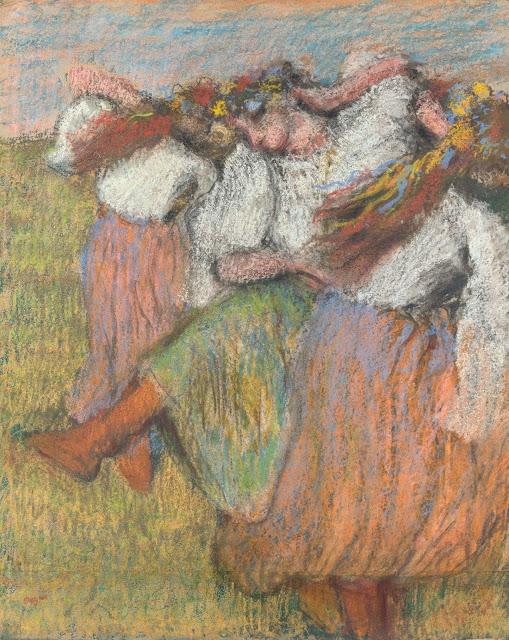 Эдгар Дега - Русские танцовщицы (1899)