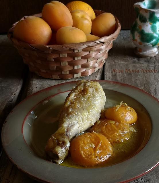 Pollo con Albicocche