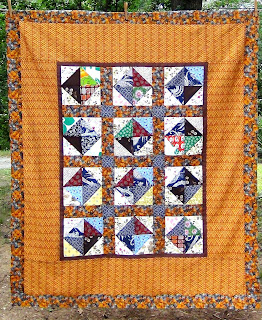 Diamonds and Old Coins Quilt Top