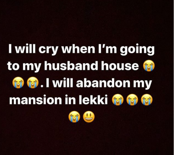 Nigerians reacts as Bobrisky announces when he is going to his husband house