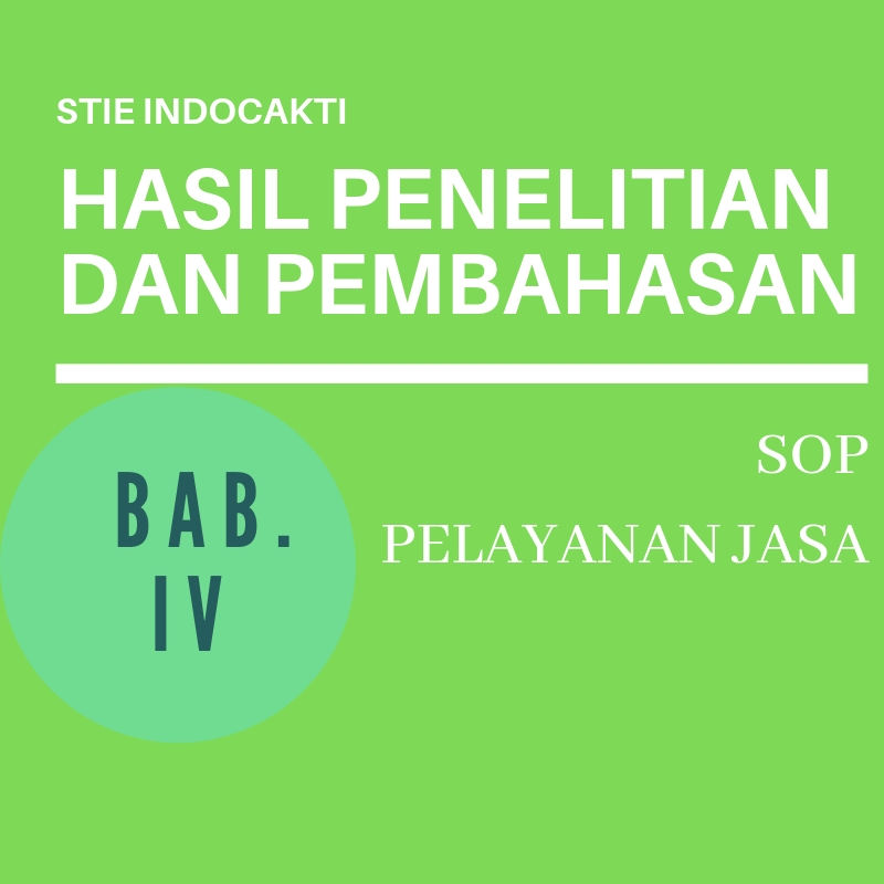 Managament And Journal Contoh Bab Iv Skripsi Stie Indocakti