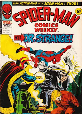 Spider-Man Comics Weekly #156, Dr Strange