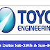 Civil / Structural Designer | TOYO ENGINEERING INDIA PRIVATE LIMITED | Walk-In Date: Sat - 29th & Sun - 30th 2018