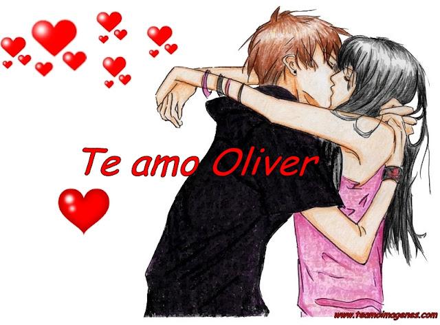 Te amo oliver Imágenes