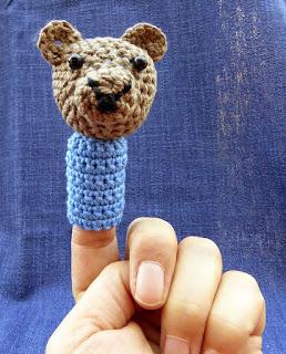 Fingerpuppe Bär