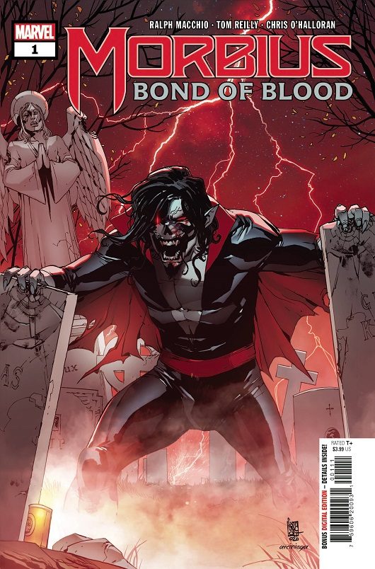 Cover of Morbius: Bond of Blood #1
