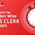 Last-Minute Tips for IBPS Clerk Prelims 2020 : सेक्शन वाइज लास्ट मिनट टिप्स