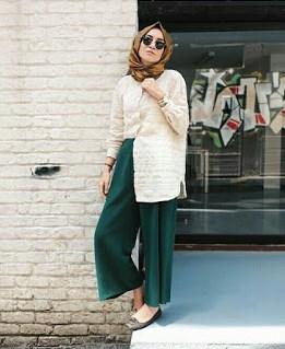 fashion hijab simple dan elegan terbaru