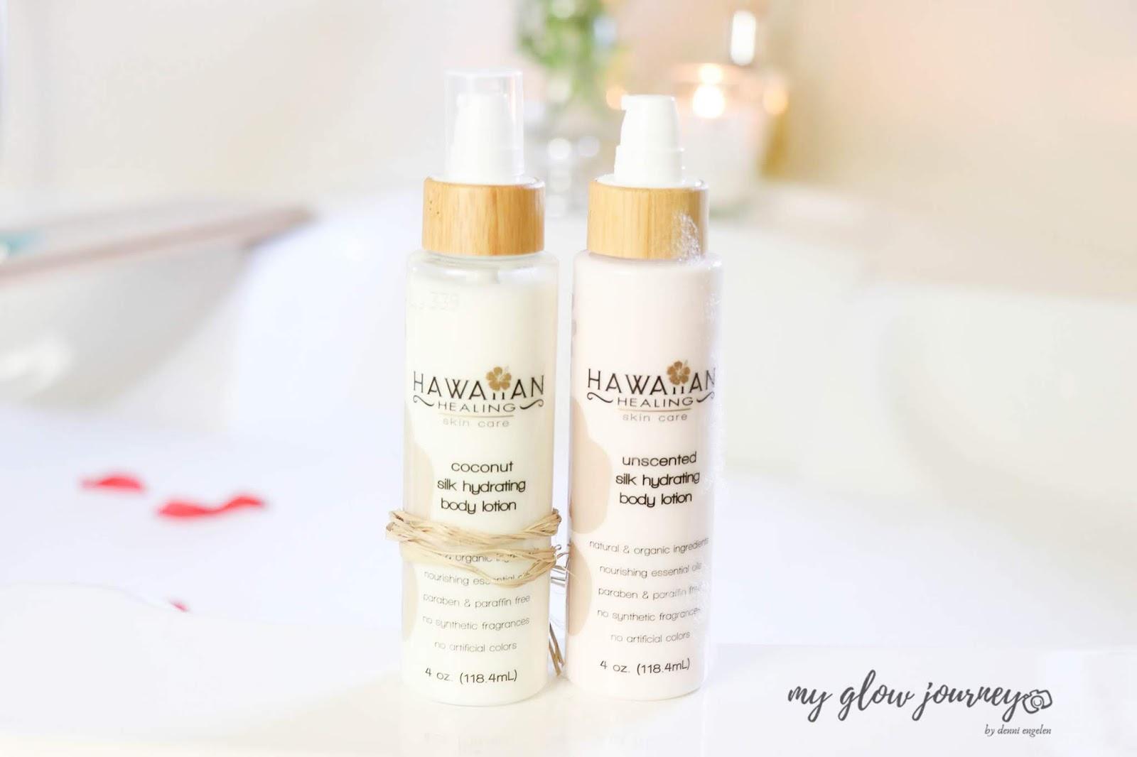 Hawaiian Healing Silk Hydrating Body Lotion