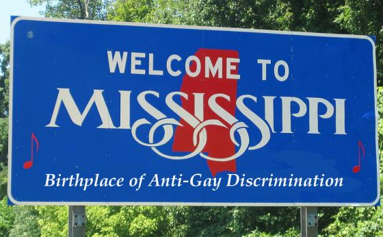Welcome to anti-gay Mississippi