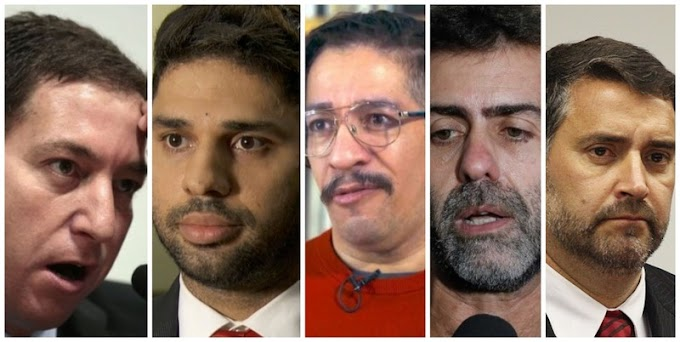 Pavão Misterioso divulga 'prints' cabulosos entre Greenwald, Miranda e Jean Wyllys