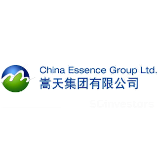CHINA ESSENCE GROUP LTD. (G54.SI) @ SG investors.io