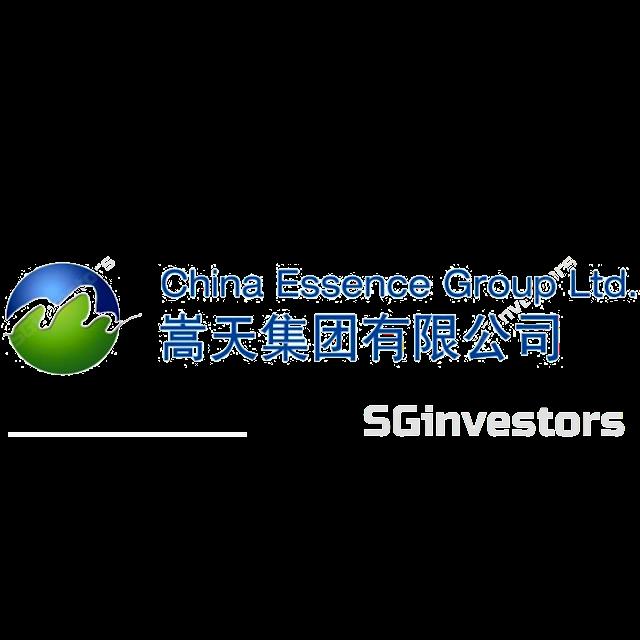 CHINA ESSENCE GROUP LTD. (G54.SI) @ SG investors.io