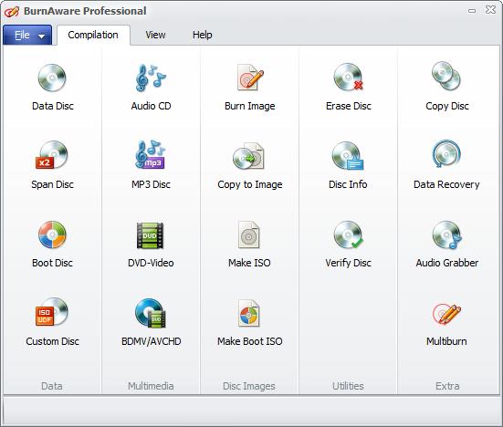 BurnAware Professional 9.7