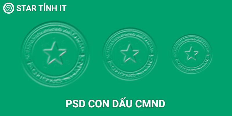 Psd con dấu cmnd chuẩn đẹp sắc nét cho các bạn fake cmnd, psd con dấu cmnd chuẩn
