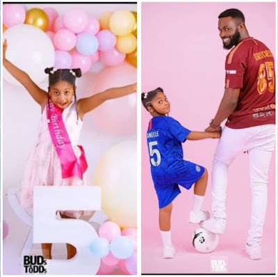 DJ Neptune Shares Adorable Photos Of His Daughter, Janelle As She Marks Her 5th Birthday