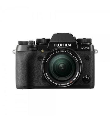 Fujifilm X-T2ミラーレスデジタルカメラファームウェアのダウンロード