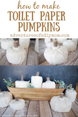 easy toilet paper pumpkins