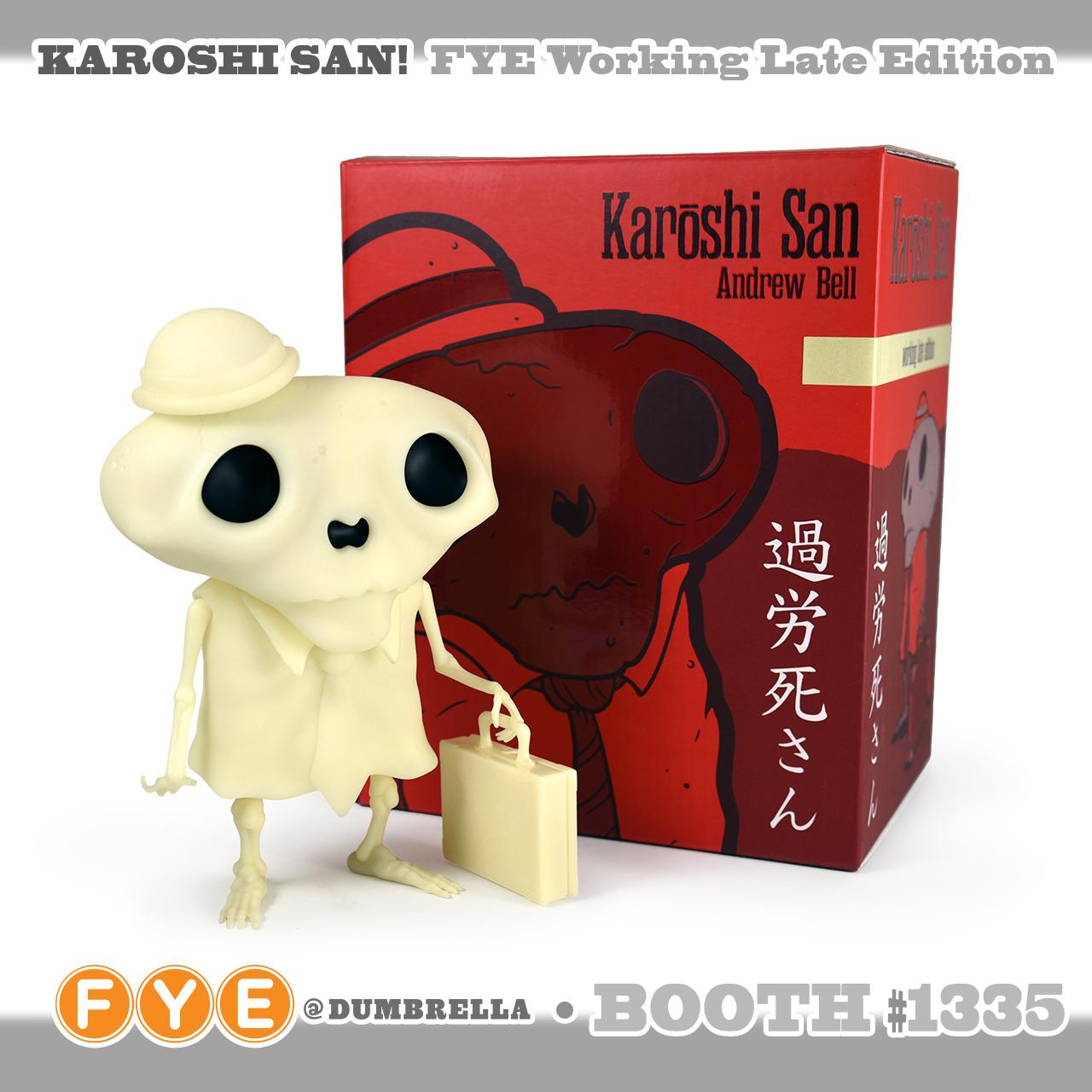 Andrew Bell s KAROSHI SAN