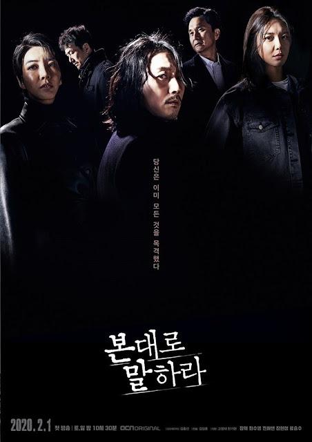 Sinopsis Drama Korea Tell Me What You Saw