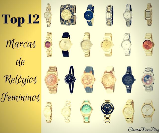 Top 12 Melhores Marcas de Relógios de Pulso Femininos