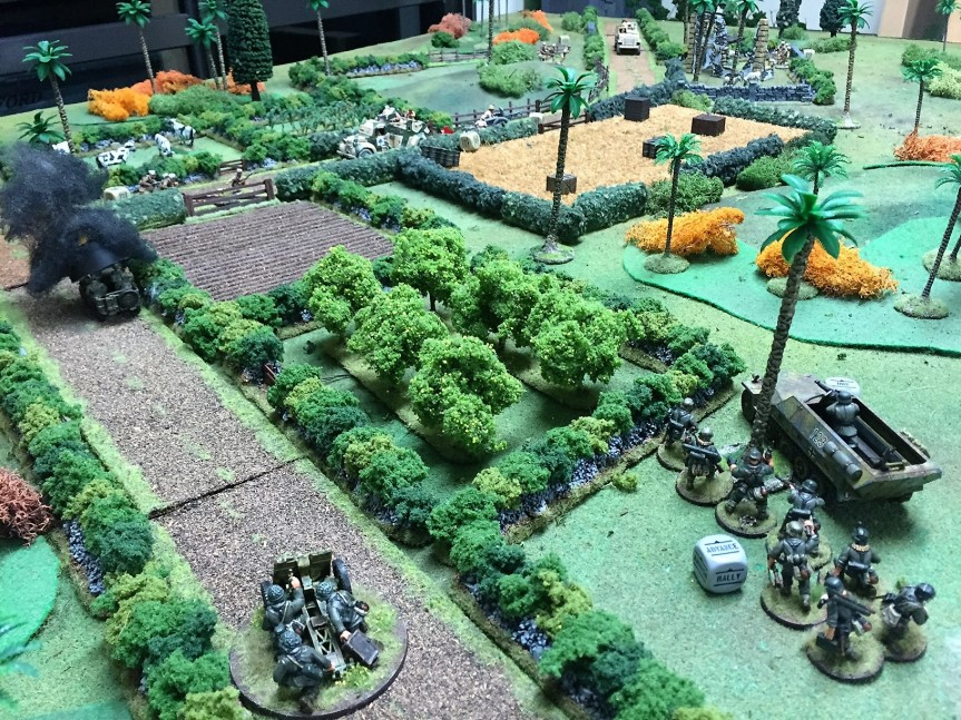 Bolt Action: Spahis and Foreign Legion vs Germans | Talk Wargaming