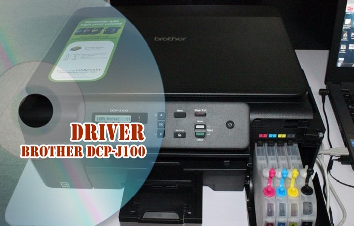 Driver Brother DCP-J100 - Google