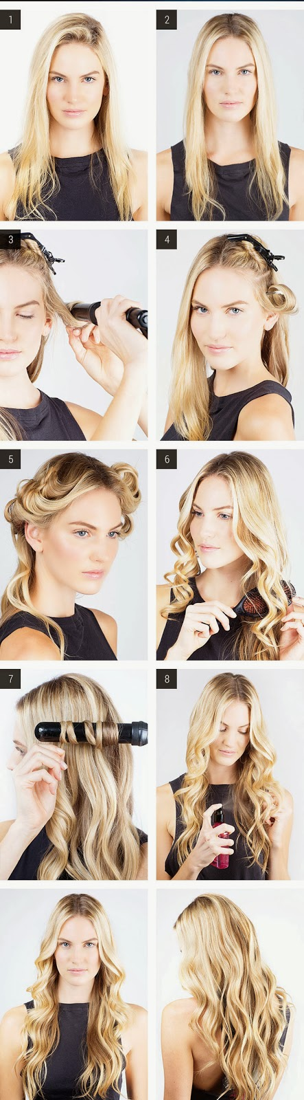 Gaya Rambut Mermaid waves Trends 2014