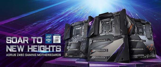 Gigabyte Reveals Z490 Motherboards